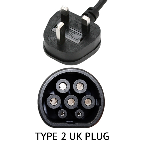 Renault Zoe. Charging cable 10A